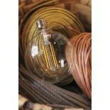 ampoule led e27 électricité quincaillerie lampe globe 5w