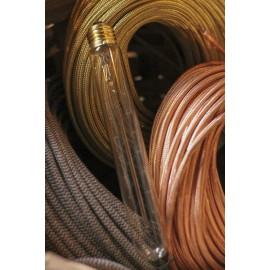 ampoule filament carbone e27 électricité quincaillerie lampe tube 30w