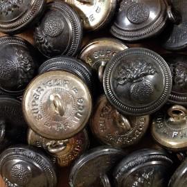 bouton mercerie militaire gendarmerie nationale armée ancien vintage 1930