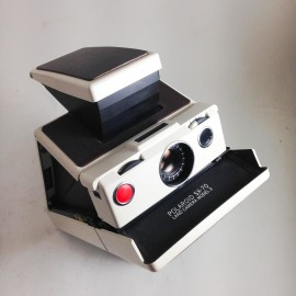 polaroid vintage antique sx-70 reflex ivory instant photo 1970 1980