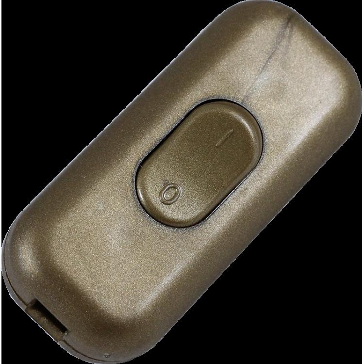 interrupteur plastique volant doré cable electrique electricité zeppelin
