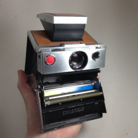 polaroid vintage antique sx-70 reflex classic instant photo 1970 1980