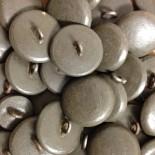 bouton simili cuir boucle mercerie vintage 1920 22mm militaire