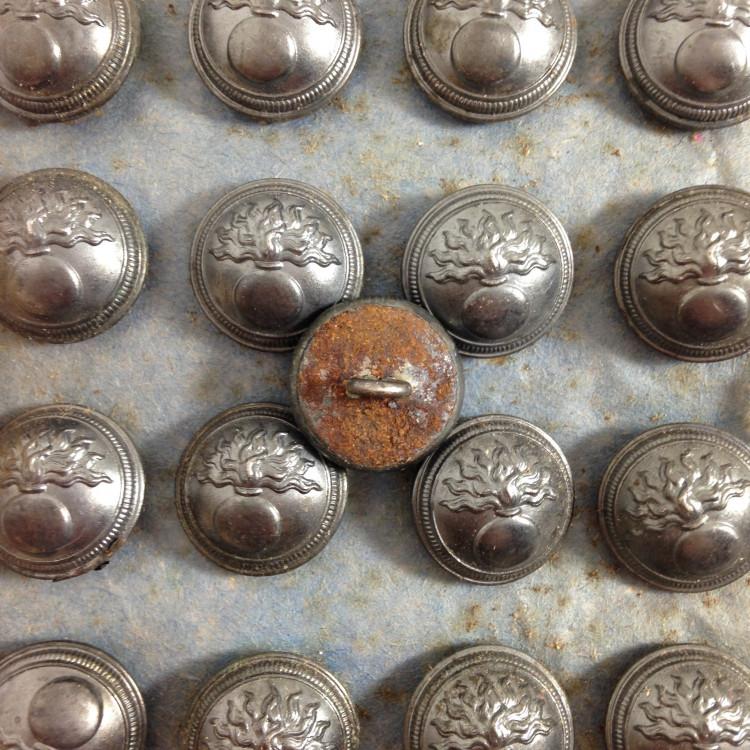 gendarmerie nationale bouton militaire 15mm mercerie ancienne 1930