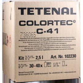 tetenal colortec c41 négatif tetenal kit 2,5l développement