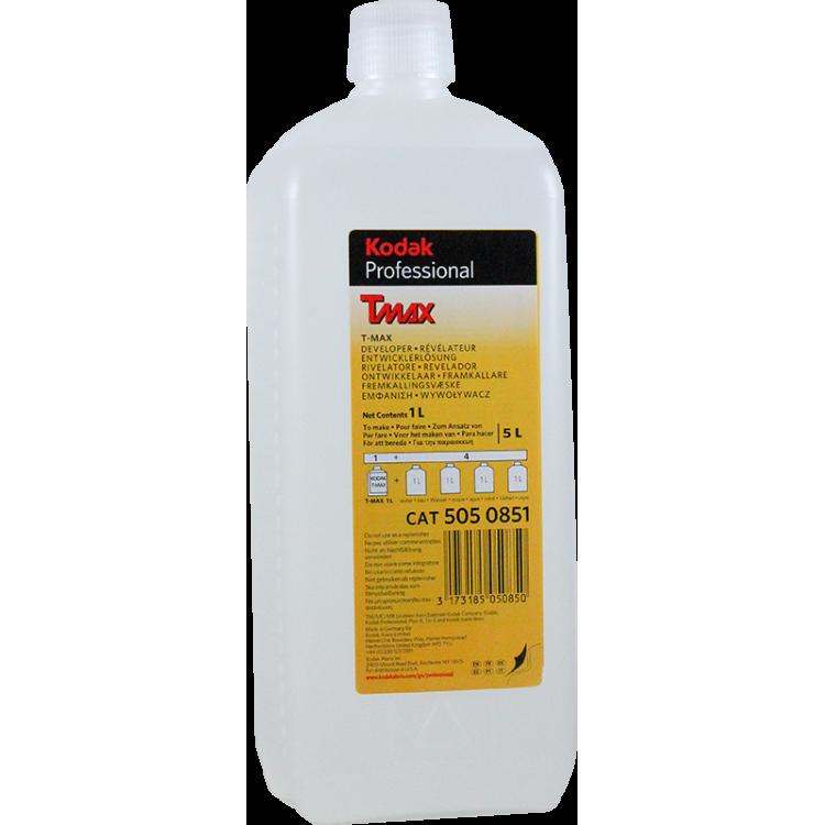 kodak tmax révélateur développement noir et blanc liquid 5 litre argentique pellicule