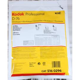 d-76 kodak developper processing black and white film powder analog