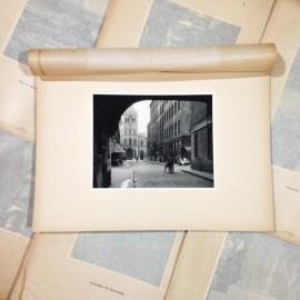 ainay photo rotogravure lyon black and white photography city paper bookstall 1930