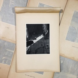 annonciade crossroads photo rotogravure lyon black and white photography city paper bookstall 1930