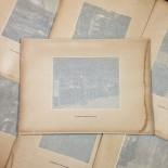 photo gravure héliogravure ancien vintage blanc et demilly noir et blanc lyon ville lyonnais papier 1930 bouquiniste