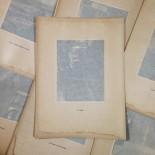 ficelle gravure héliogravure ancien vintage blanc et demilly noir et blanc lyon ville papier 1930 bouquiniste