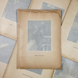 town hall photo rotogravure lyon black and white photography city paper bookstall 1930