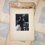 hôtel de ville gravure héliogravure ancien blanc et demilly noir et blanc lyon papier 1930 bouquiniste
