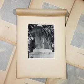 memorials photo rotogravure lyon black and white photography city paper bookstall 1930