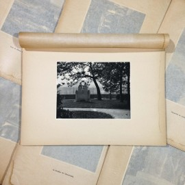 memorial xavier privas photo rotogravure lyon black and white photography city paper bookstall 1930