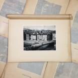 pont la feuille quartier st vincent gravure héliogravure ancien blanc et demilly noir et blanc lyon papier 1930 bouquiniste