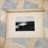 rhône vu caluire gravure héliogravure ancien blanc et demilly noir et blanc lyon papier 1930 bouquiniste