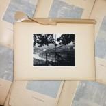 saône vue fourvière gravure héliogravure ancien blanc et demilly noir et blanc lyon papier 1930 bouquiniste