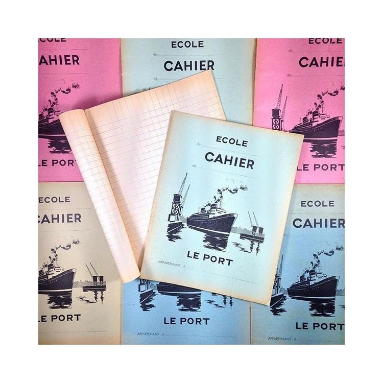 harbour vintage school notebook student antique paper 1950 1960