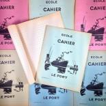 cahier ecole ancien ecolier le port papier 1960 table de multiplication