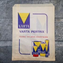 sachet ancien piles varta pertrix 1960 1970