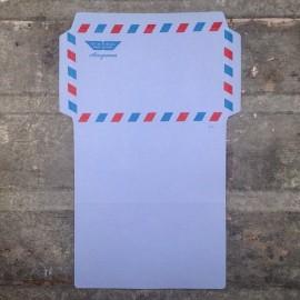 enveloppe à écrire aerogramme air mail ancienne 1960 1970