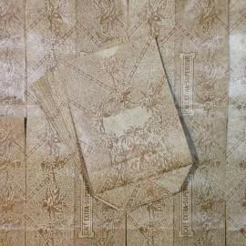 sachet café îles françaises colonies papier soufflet ancien vintage épicerie 1930