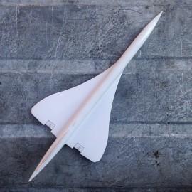 avion miniature airbus modèle réduit vintage plastique résine concorde 1980 air france supersonique
