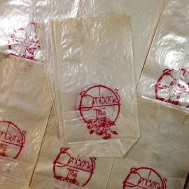 sachet bonbons fin papier ancien vintage épicerie 1930