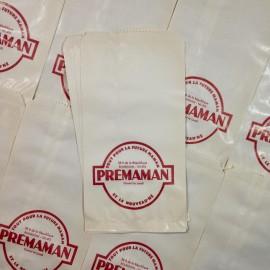 sachet prémaman ancien vintage papier mercerie 1960