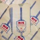 sachet riz camolino papier ancien vintage soufflet épicerie 1950