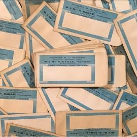 petit sachet pharmacie médicament r caille lyon la martinière 1930 1940 ancien ancienne