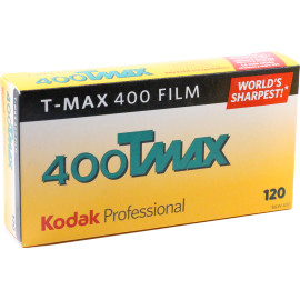 kodak t-max 400 120 film black and white unique grain medium format pro pack 5