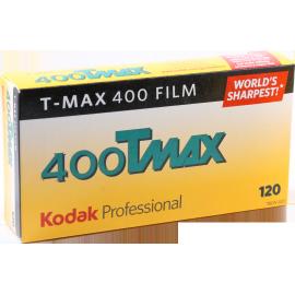 kodak t-max 400 film 120 noir et blanc bobine rouleau moyen format grain unique pack 5