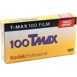 kodak t-max 100 film 120 noir et blanc bobine rouleau moyen format grain unique pack 5