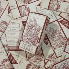boite infusion robert nicolas pharmacien pharmacie ancien vintage papier 1940