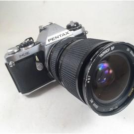 pentax me 50mm 35mm tamron zoom