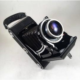 zeiss ikonta 521/2 521 2 novar 105mm 3.5 120 6x9 anastigmat ancien vintage photographie argentique soufflet