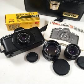 pentax auto 110 film argentique mini miniature petit reflex format ancien vintage