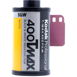 kodak t-max 400 t-grain antique vintage analog 35mm black and white film