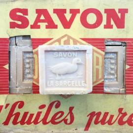 savon la sarcelle de marseille la sarcelle 80% huile pure 300g savons anciens