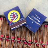 vintage seita matches france 1950 made in usa