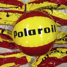 polaroil balloon pub publicitary beach antique vintage oil station garage 1970