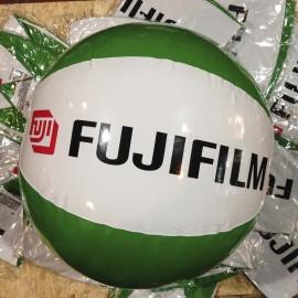 fujifilm ballon pub publicitaire plage ancien vintage fuji photo magasin 1990