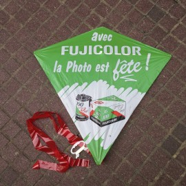 cerf volant fuji fujicolor fujifilm goodies ancien vintage magasin photo 1990