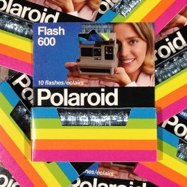 polaroid 600 barrette flashs flash ampoule ancien vintage 1980 photographe photo