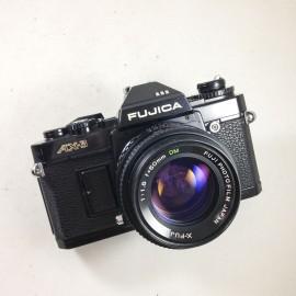 fujica ax3 reflex x-fujinon 50mm 1:1.6 reflex argentique