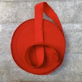 ruban militaire ancien vintage rouge mercerie tissu 1930