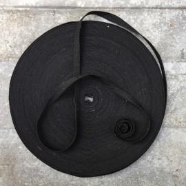 ruban militaire ancien vintage noir mercerie tissu 1930
