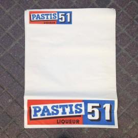poster pub pastis 51 antique vintage bar 1970